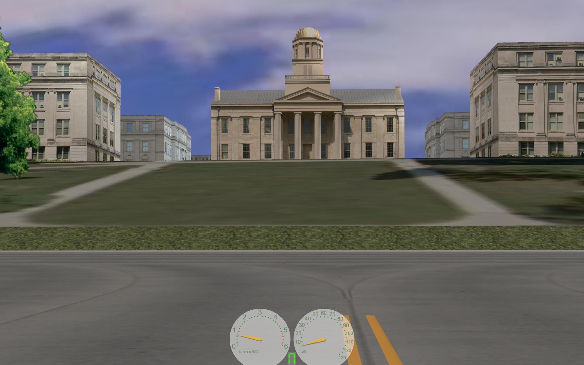 Old Driving Simulator Vic